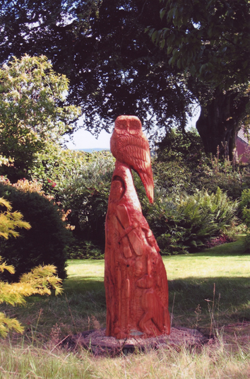 Chainsaw carving uk sculpture scotland